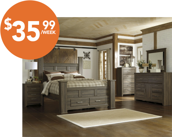 Majik Rent-to-Own Ashley Juararo Bedroom Set Id:B251