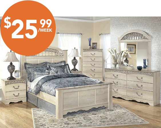 Majik Rent-to-Own Ashley Catalina Bedroom Set Id:B196