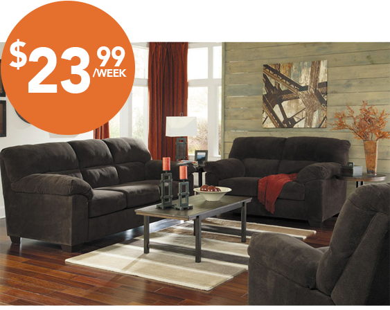 Living Room Furniture Rent To Own majik rent-to-own ashley zorah sofa & loveseat, id:94501